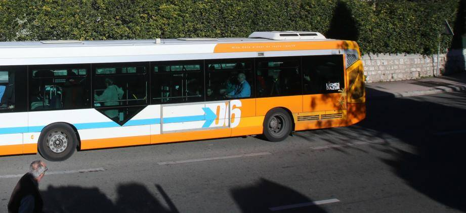 Un bus Lignes d'Azur (image d'illustration)