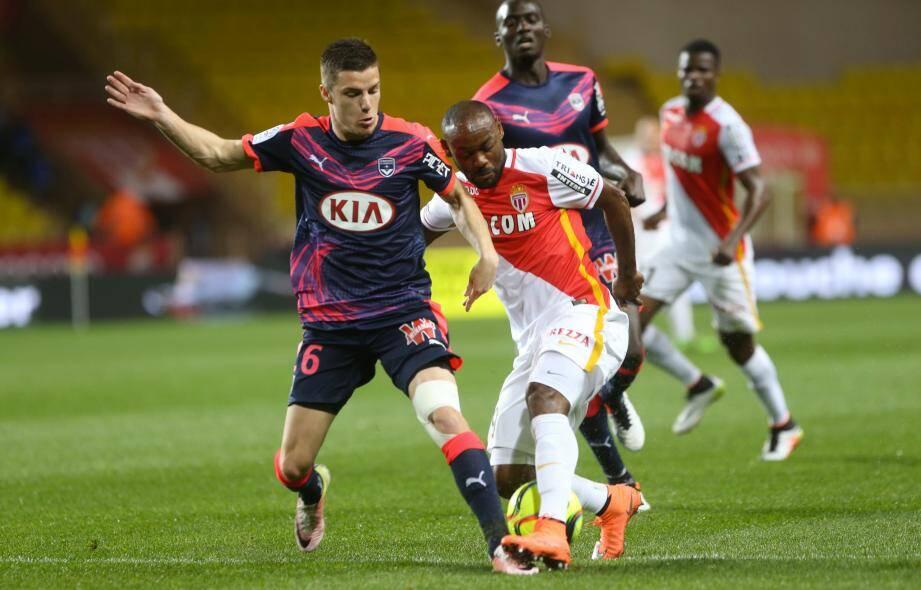 L'AS Monaco a laissé passer une belle occasion face aux Girondins de Bordeaux.