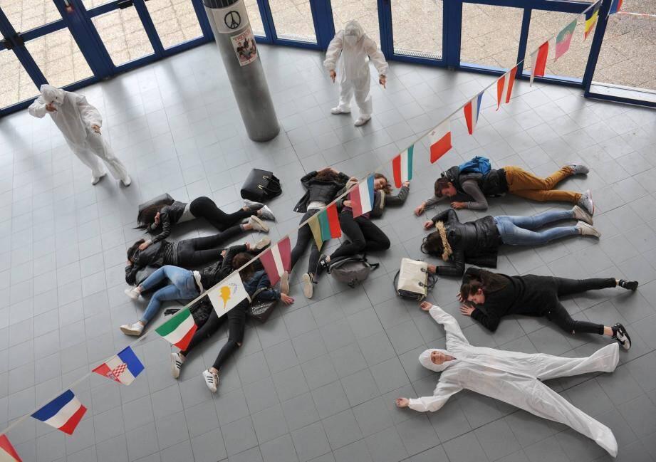 L'exercice de simulation d'attaque terroriste est rendu obligatoire par le rectorat.