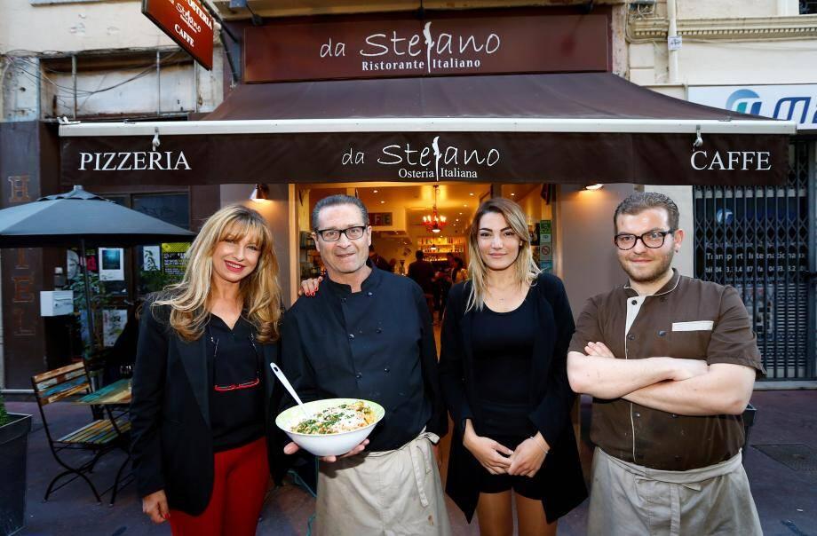 Réouverture du restaurant Da Stefano après des péripéties du chantier hôtel voisin.
