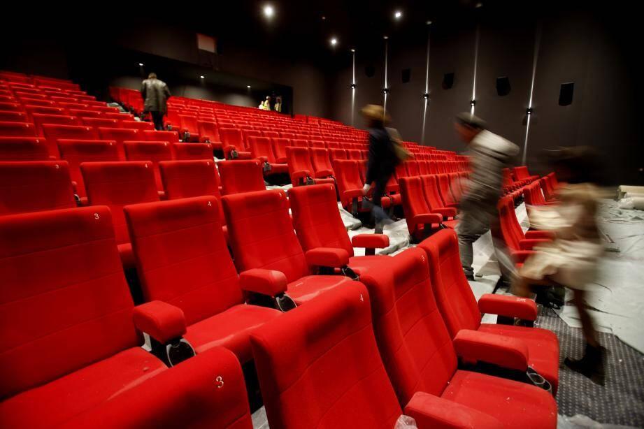 Illustration d'un cinéma.