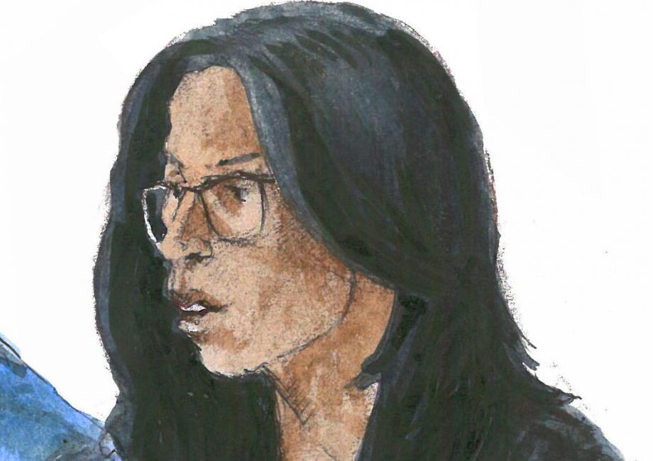 Soumia, le témoin principal de l'affaire, a eu beaucoup de difficultés à s'exprimer devant la cour d'assises.