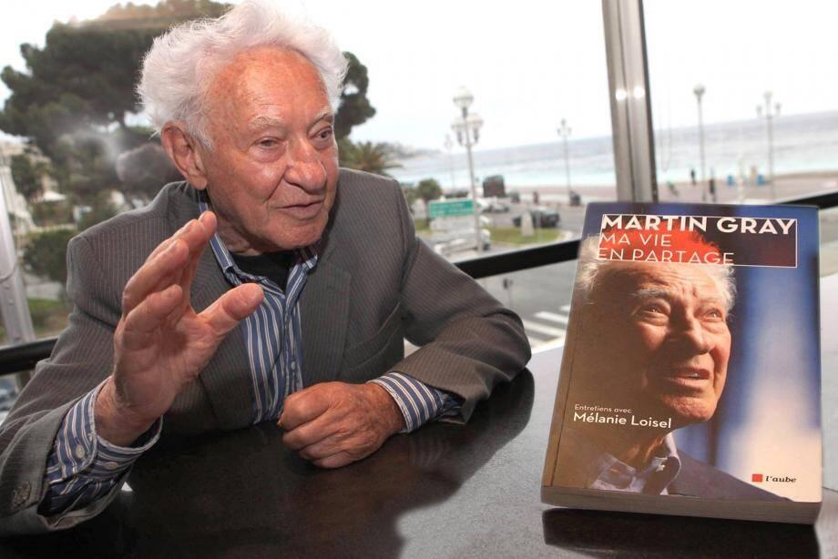 L'écrivain Martin Gray.