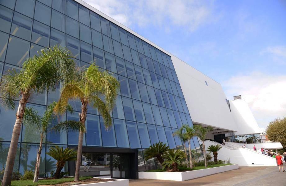 Le Palais des Festivals à Cannes où se déroulera le Mipim