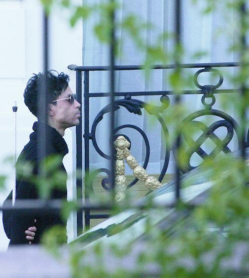 Prince à l'hôtel Negresco de Nice en le 25 juillet 2010.
