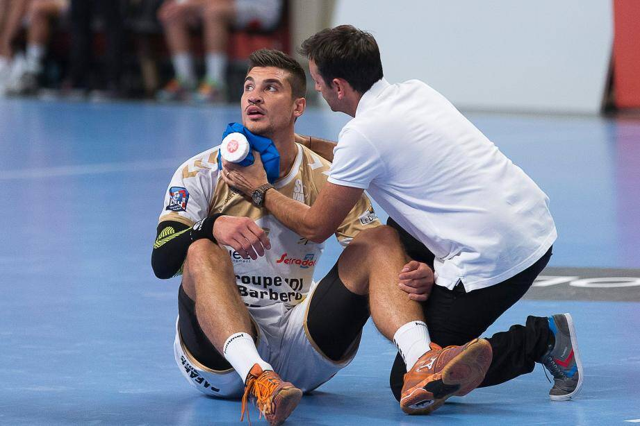 Wissem Hmam et ici Alexandru Simicu seront absents pour le match de samedi soir au Phare de Chambéry