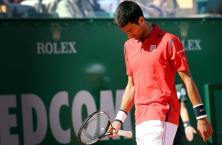 Novak Djokovic éliminé du Monte-Carlo Rolex Master.