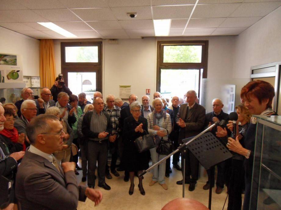 Les nouveaux locaux de la Société des sciences naturelles et d'archéologie de Toulon et du Var ont été inaugurés samedi matin.