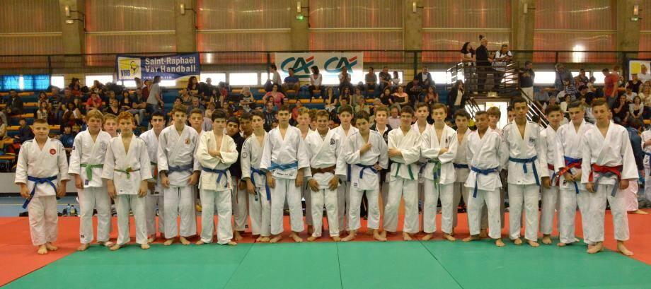 Un stage pascal pluridisciplinaire réussi pour les petits kimonos raphaëlois.(DR)