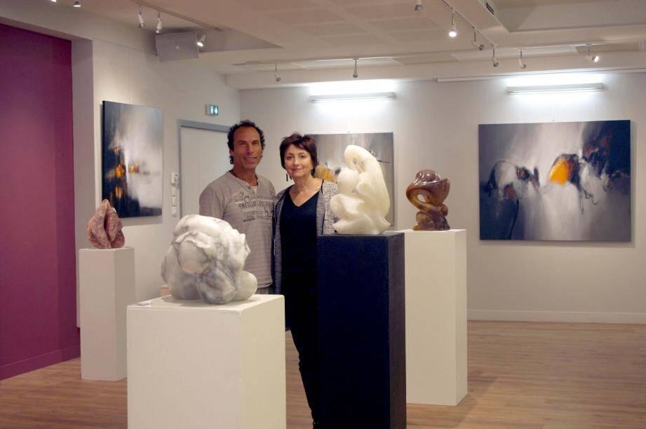 Erickh et Marie-Claude Lamarche.