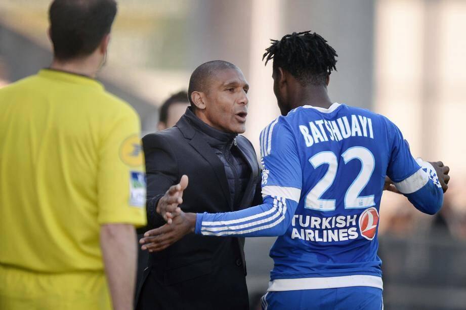 Auteur de son 16e but de la saison, Michy Batshuayi a offert à Franck Passi sa première victoire à la tête de l'OM en Ligue 1.
