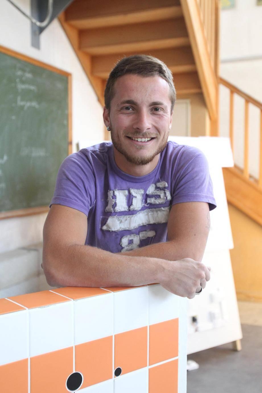 Issu d'une famille de marbriers, ce Varois de 21 ans a débuté par un brevet pro viticulture et œnologie avant de trouver sa voie.