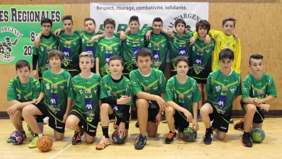 Une équipe avec un bel état d'esprit qui a gagné 24-14 à Brignoles.