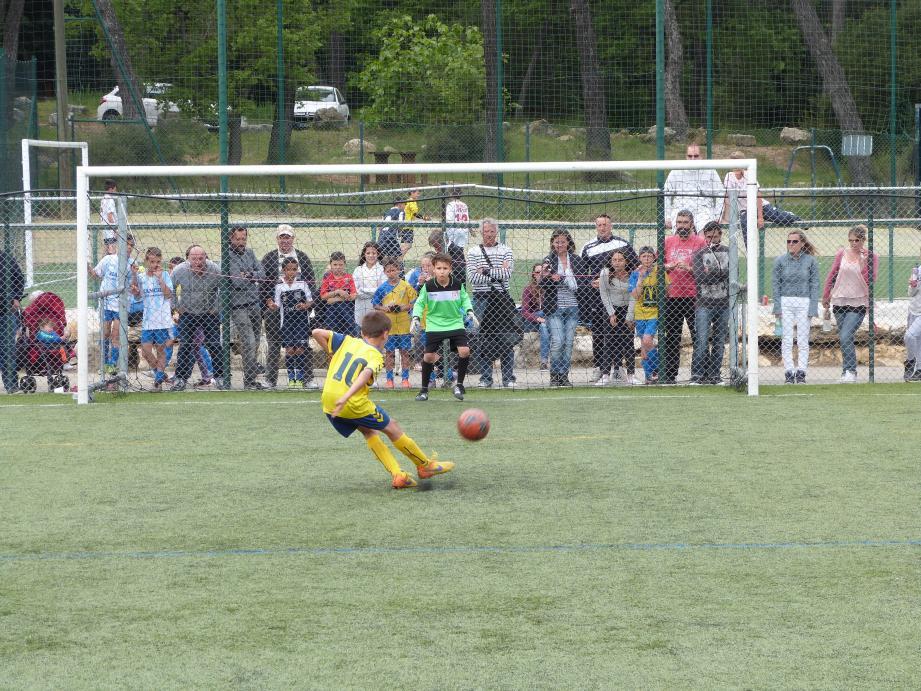 Le tournoi U10/U11 Élite s'est déroulé à La Valmasque.
