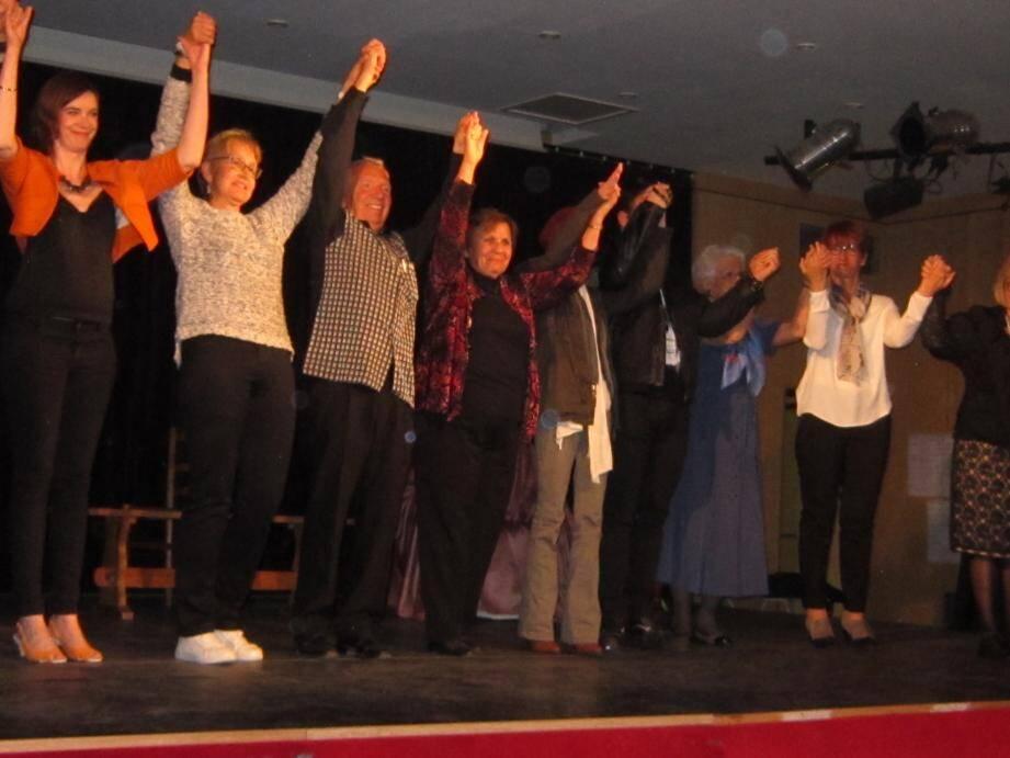 Le public nansais a succombé à l'humour des acteurs amateurs du Théâtre du Sud.