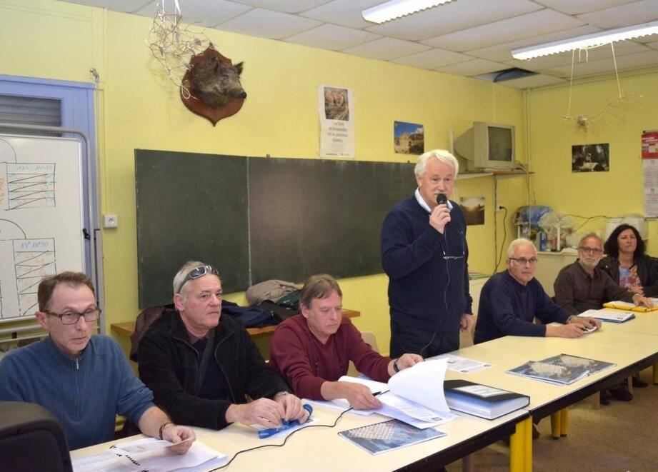 Le président Philippe Martinenq s'est fait le porte-parole des clubs garants de la culture sportive.