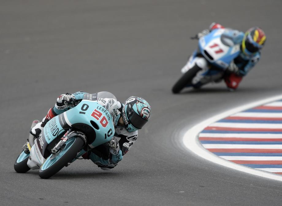Fabio Quartararo, en quête d'un déclic au guidon de la KTM du team Leopard Racing.