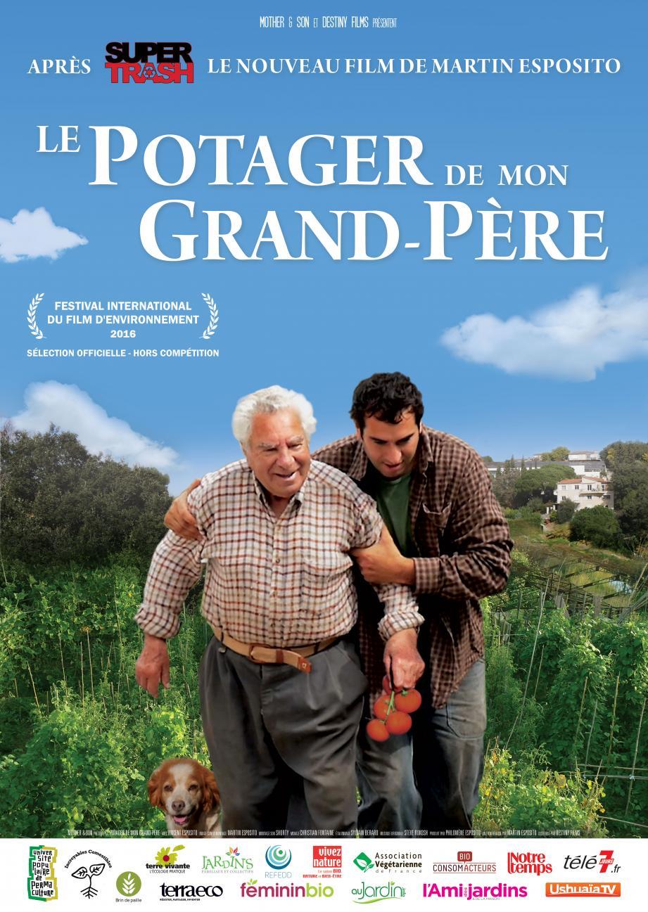 Martin Esposito et son grand-père Vincent.