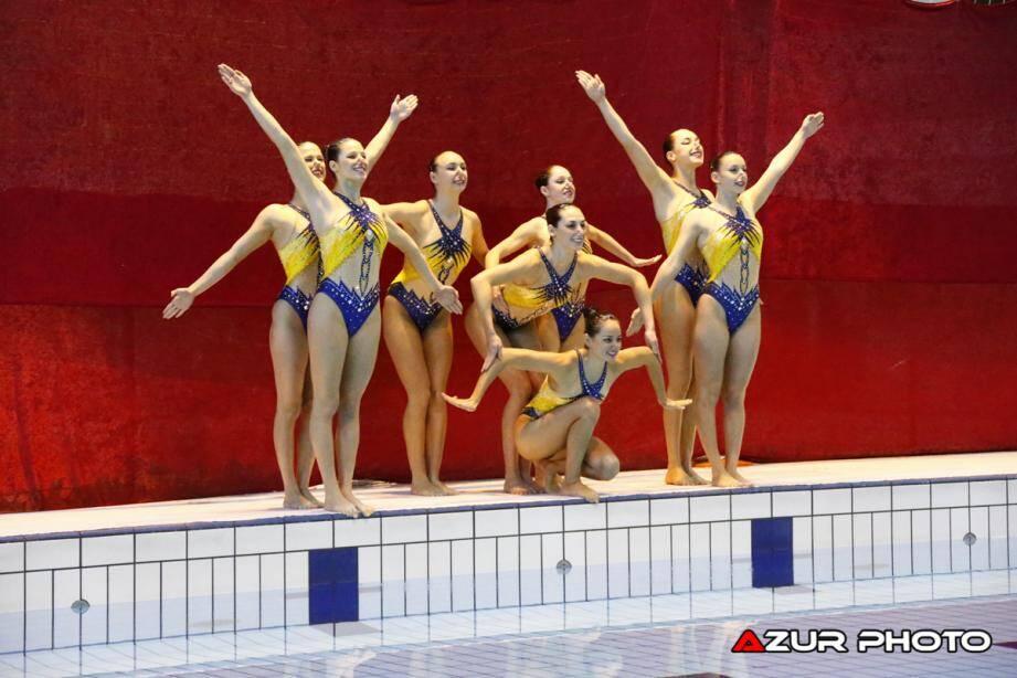 Les sirènes de la natation synchronisée ont offert un merveilleux spectacle à Jean Médecin, samedi dernier.DR