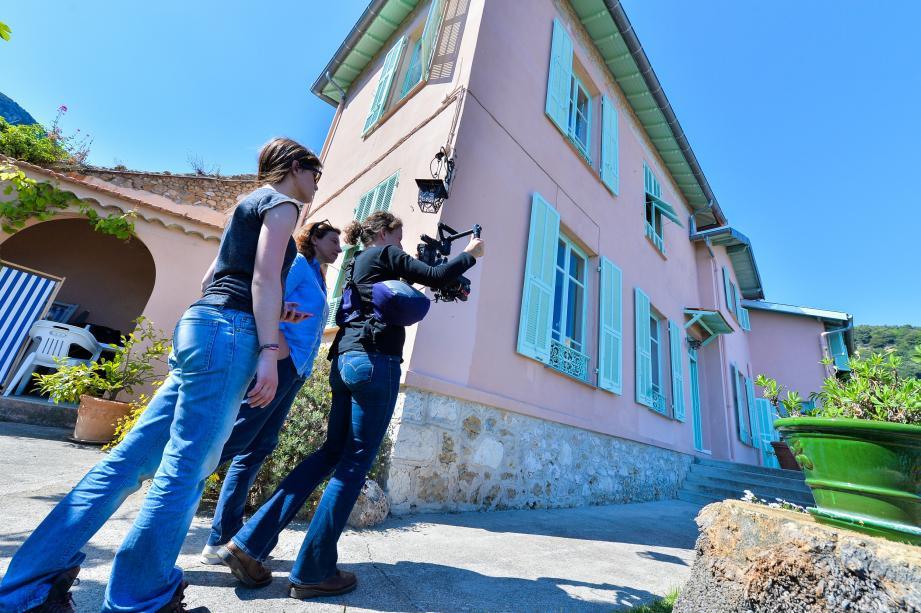 C'est dans la bâtisse familiale, près du vieux village de Roquebrune, que Florence Mauro a capturé quelques plans pour son film.