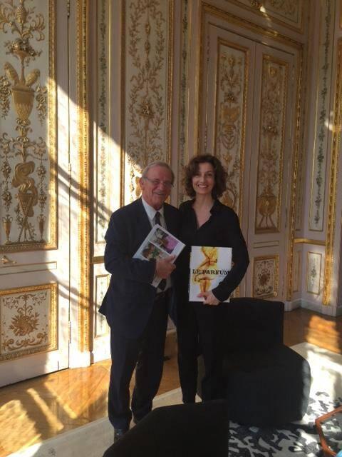 Jean-Pierre Leleux a demandé à Audrey Azoulay de s'assurer que la candidature grassoise à l'Unesco sera examinée dans les meilleurs délais.(DR)