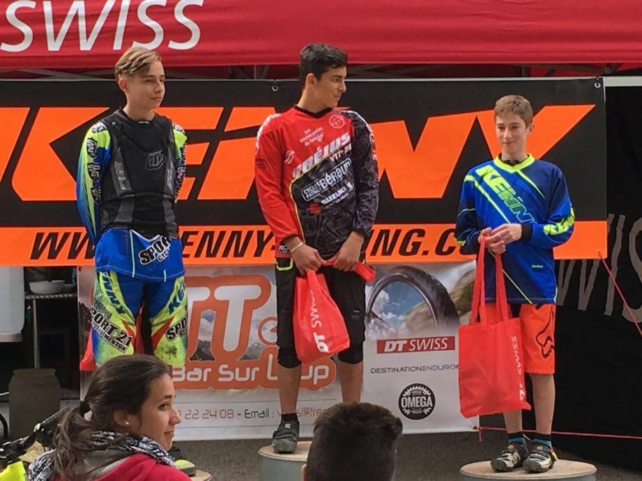 Melvin Lo Iacono attendait avec impatience ce premier podium. Il se l'offre en s'imposant en plus devant son copain, le jeune champion Thomas Lapraye.