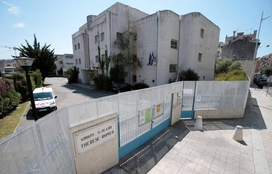 Inès est scolarisée à l'école Thérèse-Roméo de Nice depuis septembre 2015.