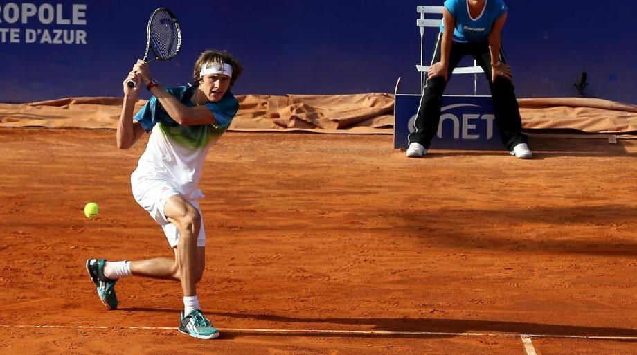 Alexander Zverev, 48e joueur mondial : déjà tout d'un grand.