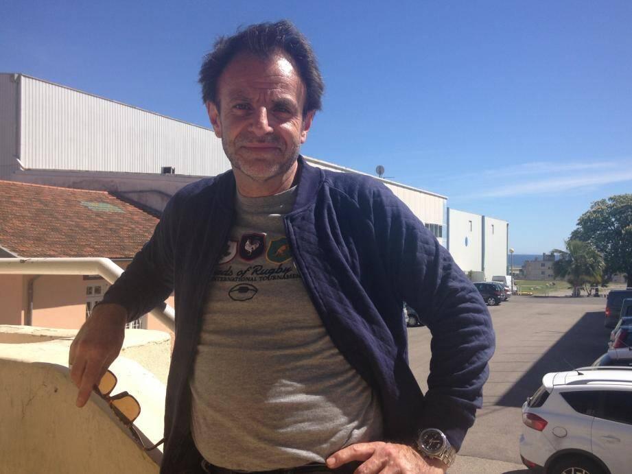 Gilles Castera, directeur de production de la série Riviera.