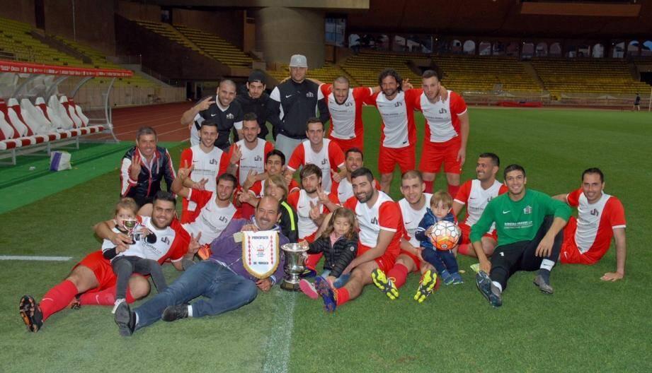 L'équipe de Ribeiro Frères s'adjuge une superbe victoire contre l'Hôpital dans le Challenge Rainier-III.