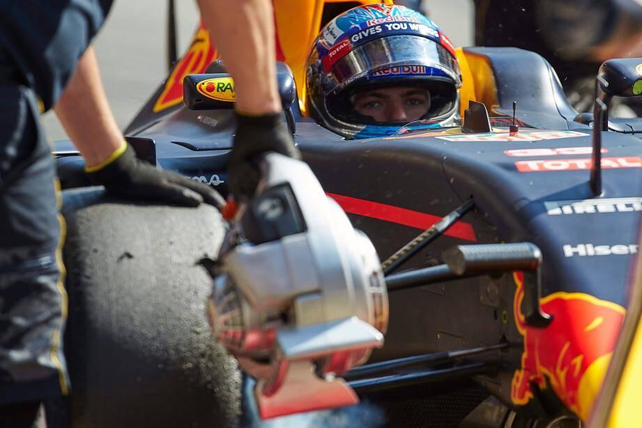 Max Verstappen, 18 ans, prendra dimanche son deuxième départ à Monaco. Au volant d'une Red Bull et dans la peau du vainqueur du Grand Prix précédent !