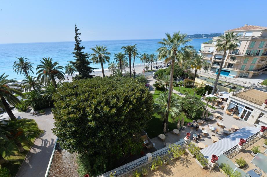 L'hôtel Westminster accueille notamment les professionnels qui trouvent, à Menton, un peu de tranquillité après l'effervescence de Monaco.