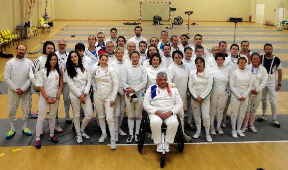 Les participants à ce dernier tournoi loisir de la saison étaient heureux de se retrouver à Monaco pour l'occasion.