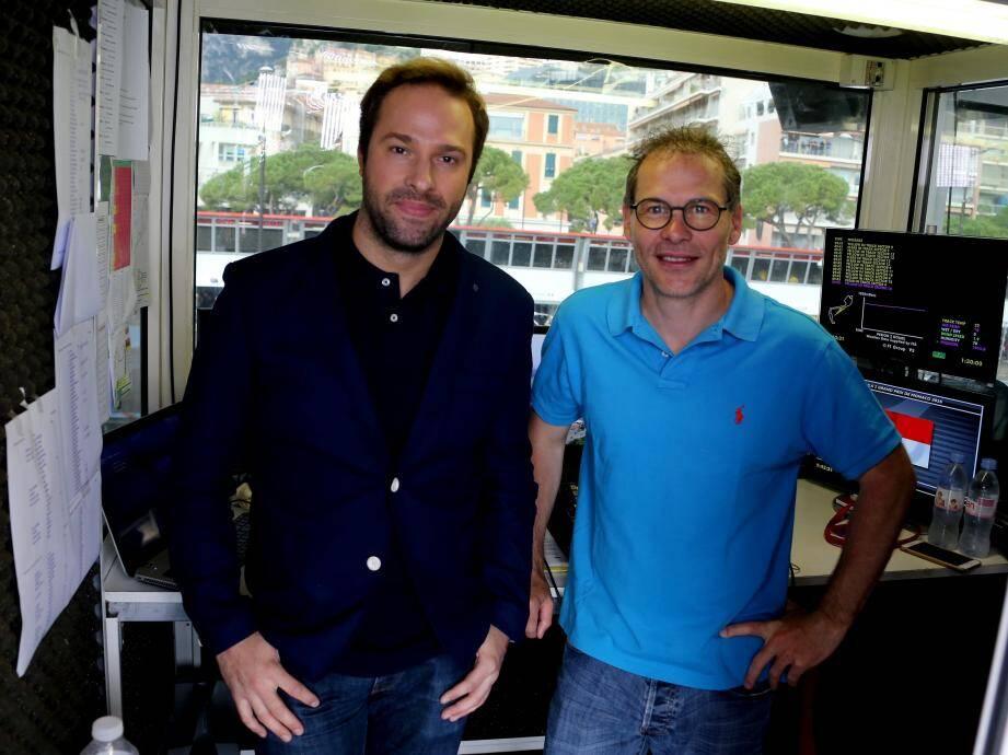 Pour une fois, Julien Fébreau et Jacques Villeneuve ne regardent pas les petits écrans de leur cabine télé, mais la boule de cristal que nous leur avons tendu. Et ils jouent le jeu !