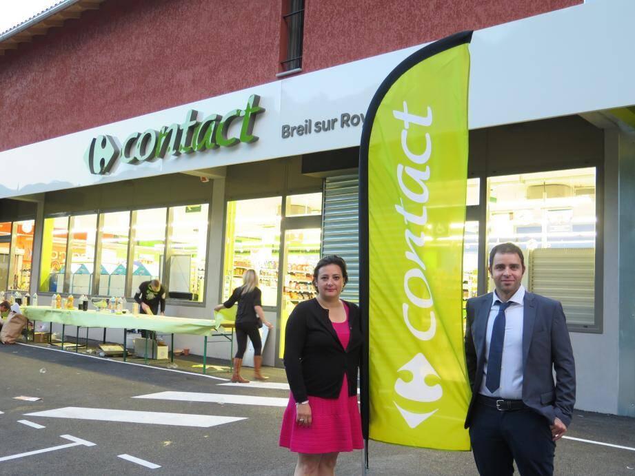 Pour les gérants, l'ouverture de ce magasin participe au développement économique de Breil comme les autres commerces plus petits.