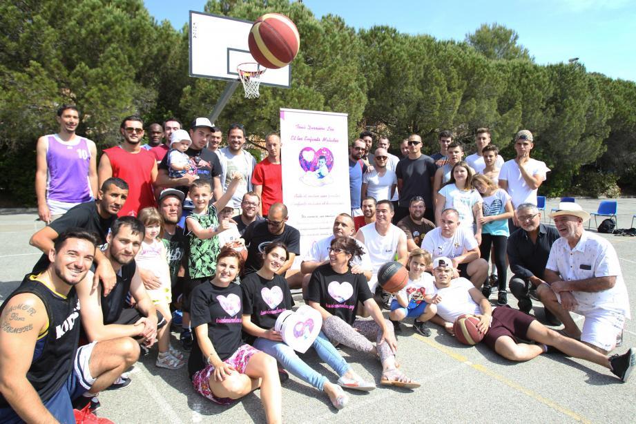 Quarante joueurs étaient réunis aux Semboules.