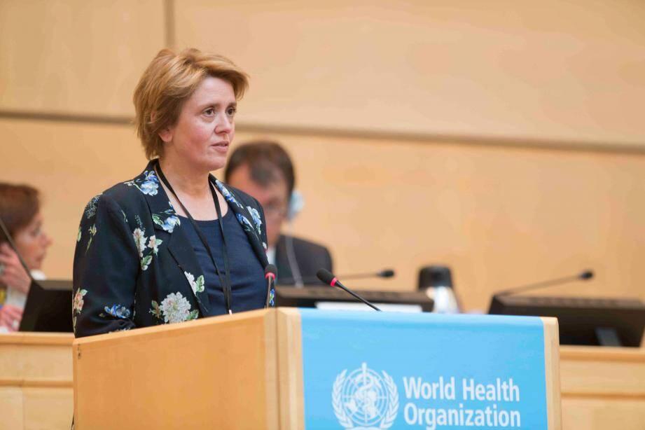 Carole Lanteri, ambassadeur, représentant permanent de Monaco auprès de l'Office des Nations Unies à Genève.