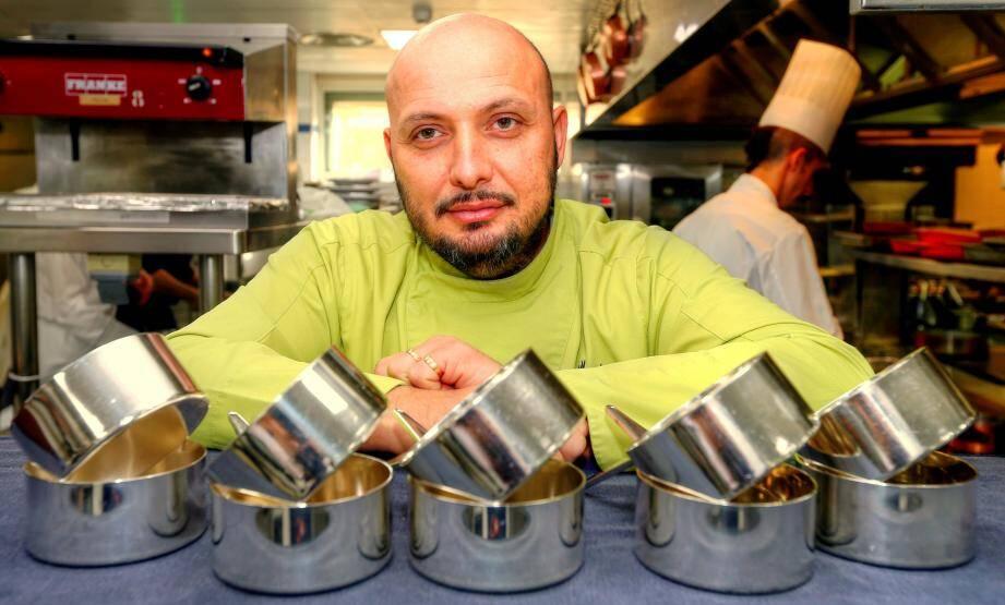 Christian Sinicropi, chef exécutif des cuisines du Martinez.