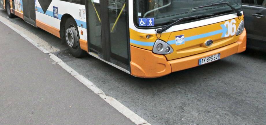 Un bus du réseau Lignes d'Azur (image d'illustration)