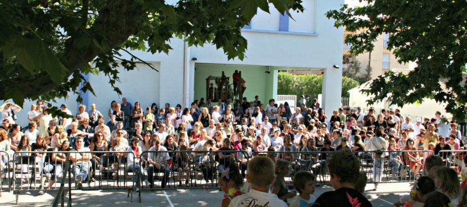 Une kermesse dans une école de Nice (image d'illustration)