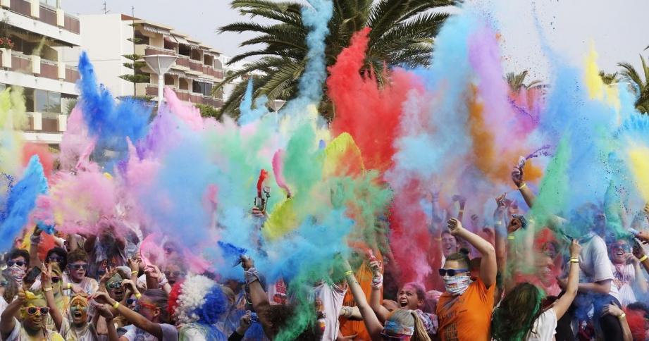 Les courses colorées se multiplient dans la région Paca.