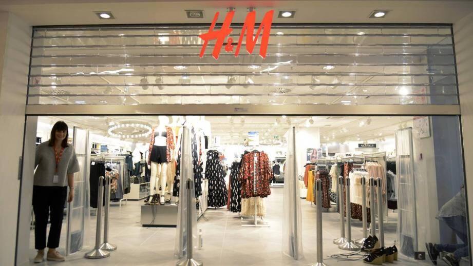 H&M ouvre mercredi à Mandelieu.