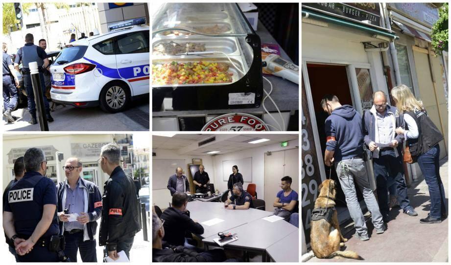 Les policiers ont contrôlé hier une dizaine de snacks dans le quartier République. Deux d'entre eux ont été fermés pour non-respect des règles d'hygiène.