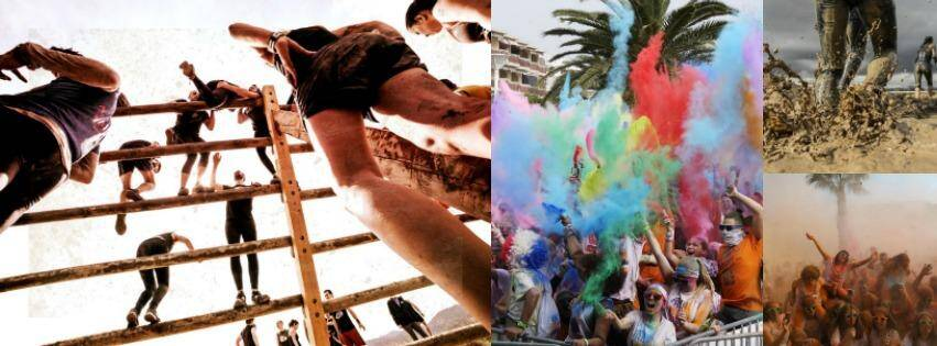 Mud Day, XMAN 06, Holi Run... Ces courses insolites.