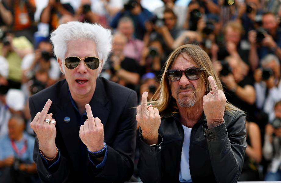 Iggy Pop et Jim Jarmusch