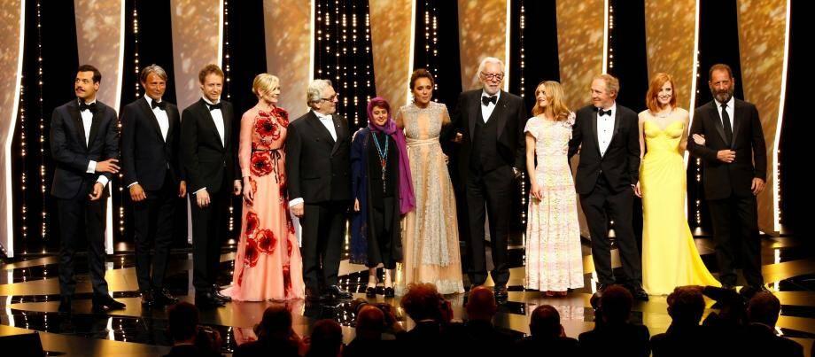 Le jury du Festival de Cannes.