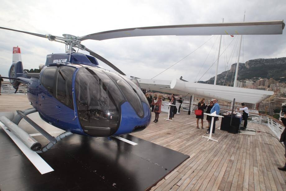 La compagnie Monacair proposera dès cet été des liaisons en 20 minutes entre Nice et Saint-Tropez.