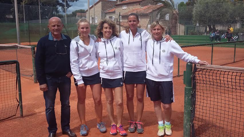 Selim Zenati (président), Diane Flament, Catherine Merilhou, Christelle Ferret et Sandrine Fogliani.