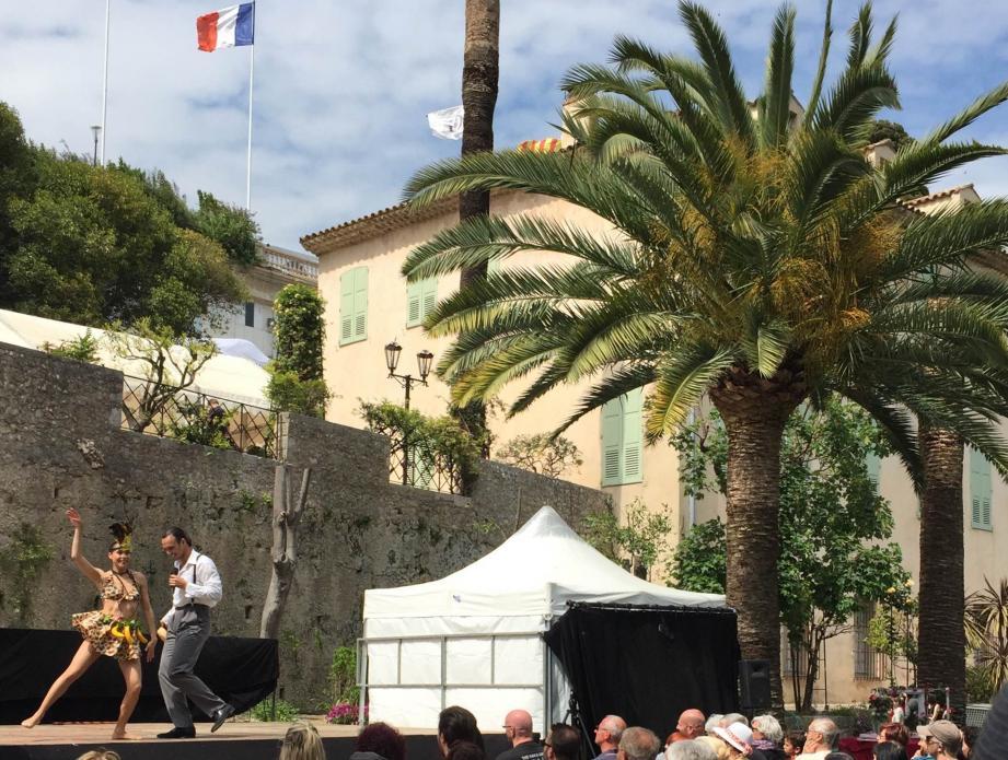 Un concert suivi à Grasse.