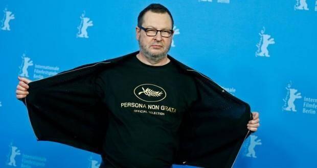 """Lars Von Trier, réalisateur danois, est fier d'être """"persona non grata""""."""